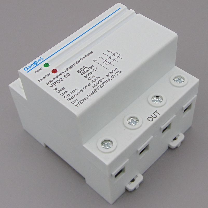 popular ac relay wiring buy cheap ac relay wiring lots from vpd3 60 three phase four wire din rail automatic recovery reconnect over voltage and under