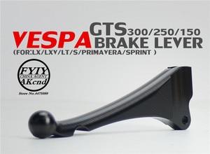 Image 1 - Мотоциклетные тормозные рычаги передний диск задний барабан тормозной рычаг для piaggio vespa LX LXV LT S150 primavera sprint GTS GTV 300 250 200ie