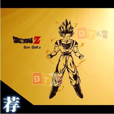 Japonés AFICIONADOS de Dibujos Animados DRAGON BALL Son Goku Pared de Vinilo Peg