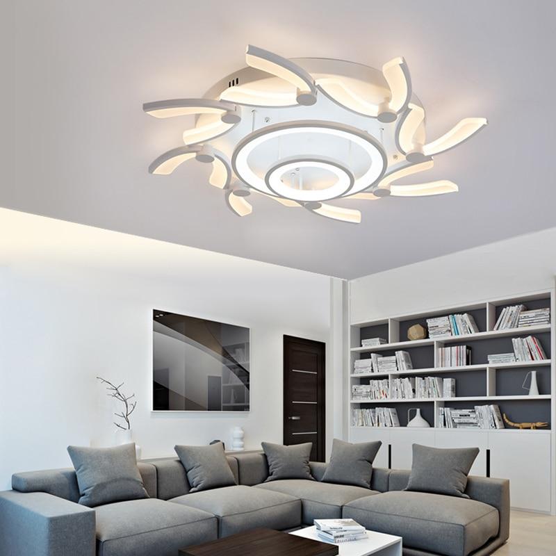 modern flushmount led ceiling lights for foyer living room bedroom ...