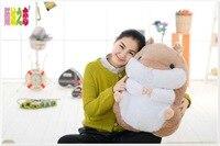 Duży pluszowy brązowy chomika chomik zabawka piękny nowy tłuszczu lalki prezent zabawka około 55 cm