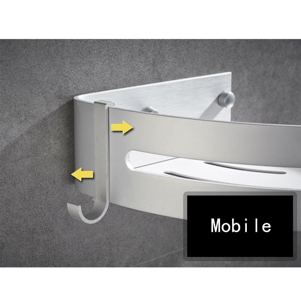Beelee Shower Corner Caddy Bathroom Shower Corner Shelf, Self ...
