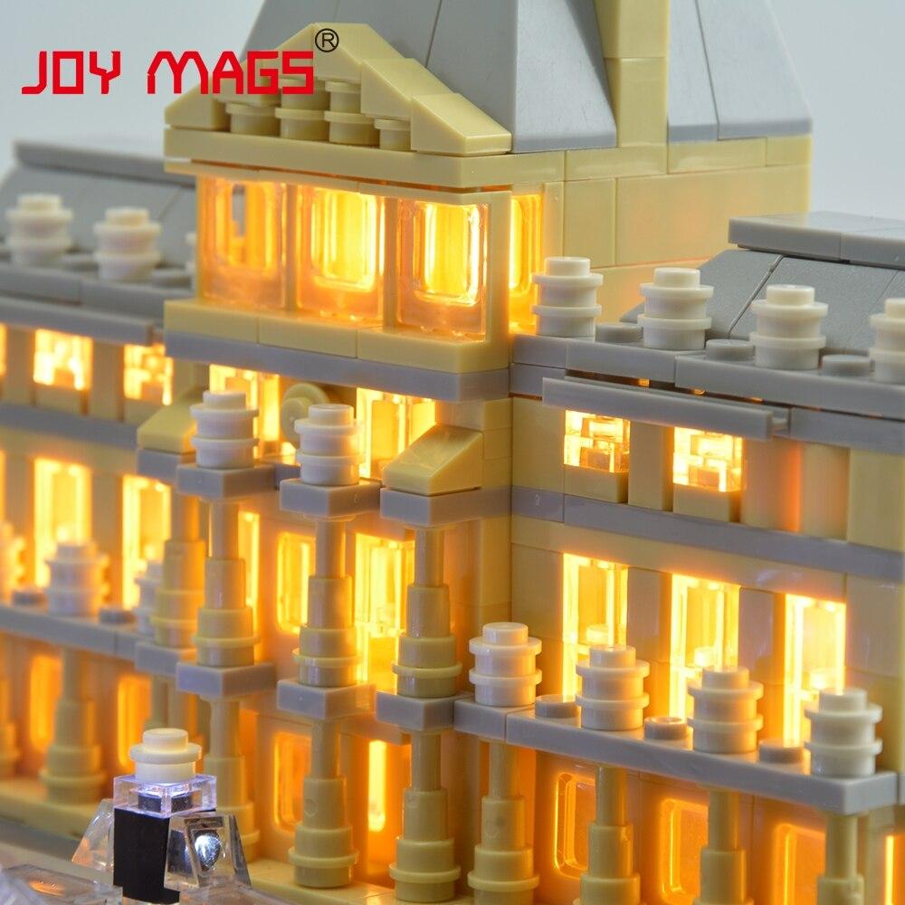 JOY MAGS Жеңілдеткіш жинағы Led Building Blocks Kit - Дизайнерлер мен құрылыс ойыншықтары - фото 6