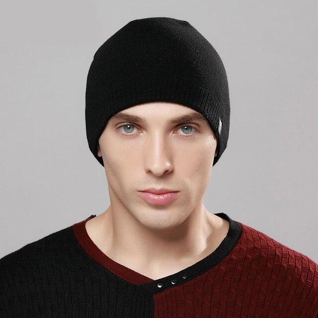 2018 nuevo otoño toca gorros sombrero de invierno de punto de lana sombrero  Unisex Casual de hombre y mujer gorros de punto Gorro caliente€ 6 83fab55a807