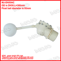 MJ DN50AC hydroponics reservoirs float valve high pressure small flow float switch submersible water pump Float Valve