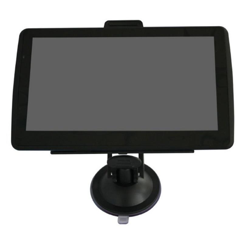 7 inch Car GPS Navigator 4GB + FM + free latest maps Navigator Av-in Bluetooth 5 inch lcd win ce 6 0 core bluetooth av gps navigator w fm transmitter