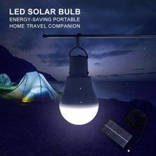 Portable Solar Light 5V 1.5W Solar Powered Energy Lamp 12LED Bulb for Outdoors Camping Light Tent Solar Lamp New 2019