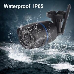 Image 4 - OUERTECH caméra de surveillance extérieure IP Wifi filaire, 720P 960P 1080P, WIFI filaire, ONVIF P2P, vidéosurveillance, port pour carte SD, application ICSEE 128G Max
