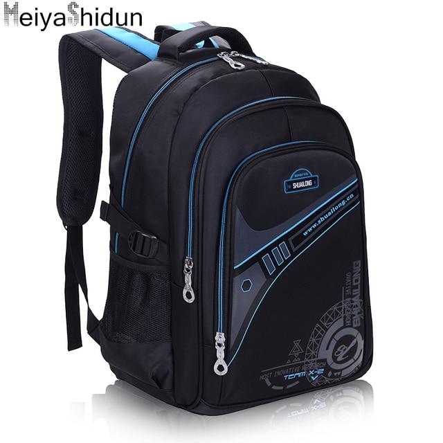 MeiyaShidun School Bag For Teenagers Candy Orthopedic Children Backpacks For Girls Boys Students Book Bag Backpack Kids Mochilas
