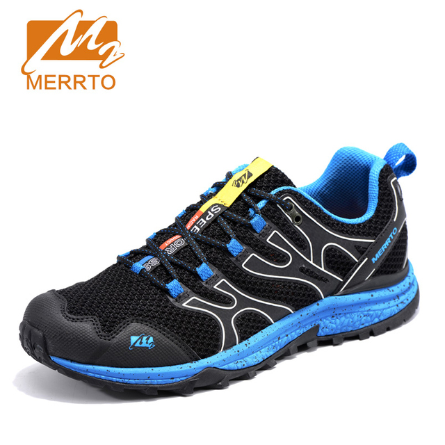 MERRTO 2017 Man Walking Shoes  For Men Anti-Microbial Breathable Walking Athletic Masculino Walking shoes