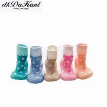 dkDaKanl Baby Boy Girl Socks Infant Toddler Floor Cotton Baby Socks Spring Autumn Newborn for 0-3 years old GXY05