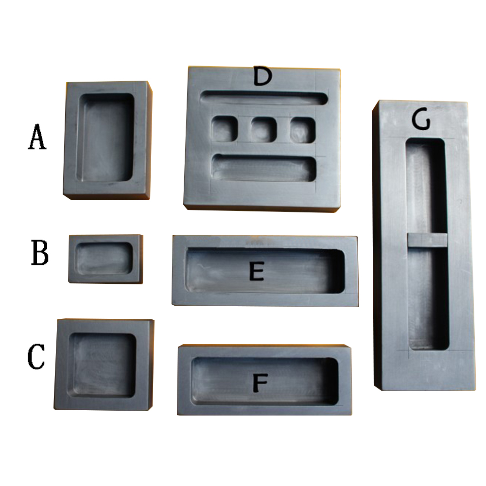 US $14 99 |High Quality Graphite Mold Casting Melting Mould Refining  Melting Crucible for Gold & Silver Platinum Refining 100g 3kg-in Jewelry  Tools &