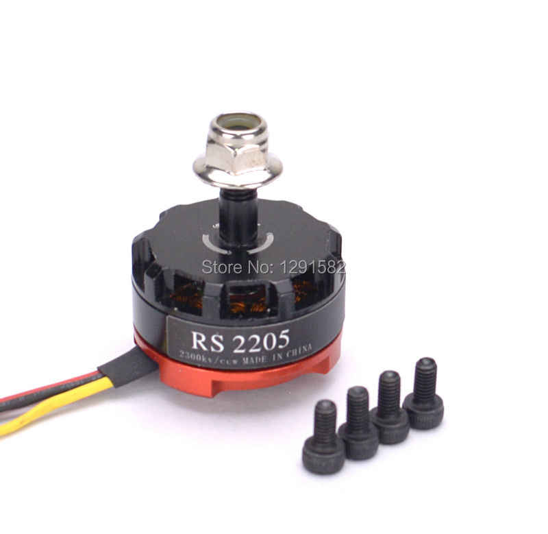 RS2205 2300kv Brushless Motor ฿ 2205 2300kv 3-4 S สำหรับ QAV200 210 250 FPV Quad Racing Robocat 270 martian 190 230 255