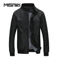 MISNIKI Spring Autumn Bomber Jacket Men Casual Lightweight Men Jacket Coat