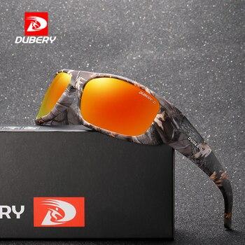 DUBERY 2019 แว่นตากันแดดผู้ชาย Polarized กรอบแว่นตา Sun สำหรับชาย Night Vision แว่นตากันแดดแว่นตาแว่นตา