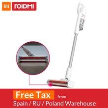 Xiaomi Roidmi F8 ручной пылесос для дома пылесборник с низким уровнем шума Циклон Bluetooth Wifi светодиодный многофункциональная расческа