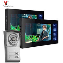Yobang Security Apartment Outdoor Station video door phone with video recording Video Intercom System door camera with SD card
