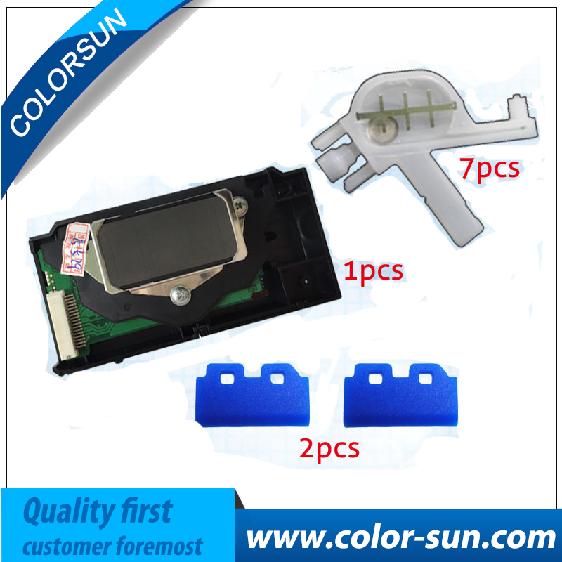 For Epson stylus pro 7600/9600 print head 1 piece and 7 pieces Damper, 2 pieces Wiper on promotion price pa e9600 printer ink damper for epson 7600 9600