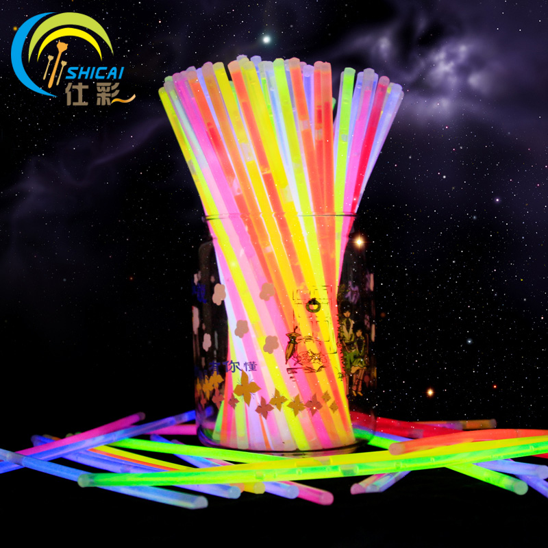 """Nova moda 50 kosov 8 """"mix Glow Stick kreativni dizajn varen sijaj palica lahka ogrlica dogodek praznična zabava za zabave"""