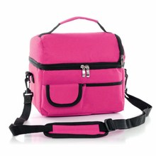 8L Cooler Box Oxford Insulated Lunch Bag Breast Milk Package Ice Pack Portable Fridge for Car Travel shoulder storage bag multi function ice pack lunch lunch bag breast milk preservation insulation package back milk bag portable