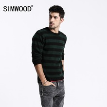 SIMWOOD Striped Sweaters Men Spring Winter New Vintage Knit Pullover Male 2019 High Quality Clothes Plus Size 180537