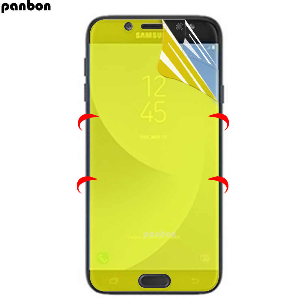 3D Soft Hydrogel film For Samsung Galaxy A3 A5 A7 2016 J5 2017 A6 A8 Plus 2018 Screen Protector Galaxy J7 Prime ( Not Glass )