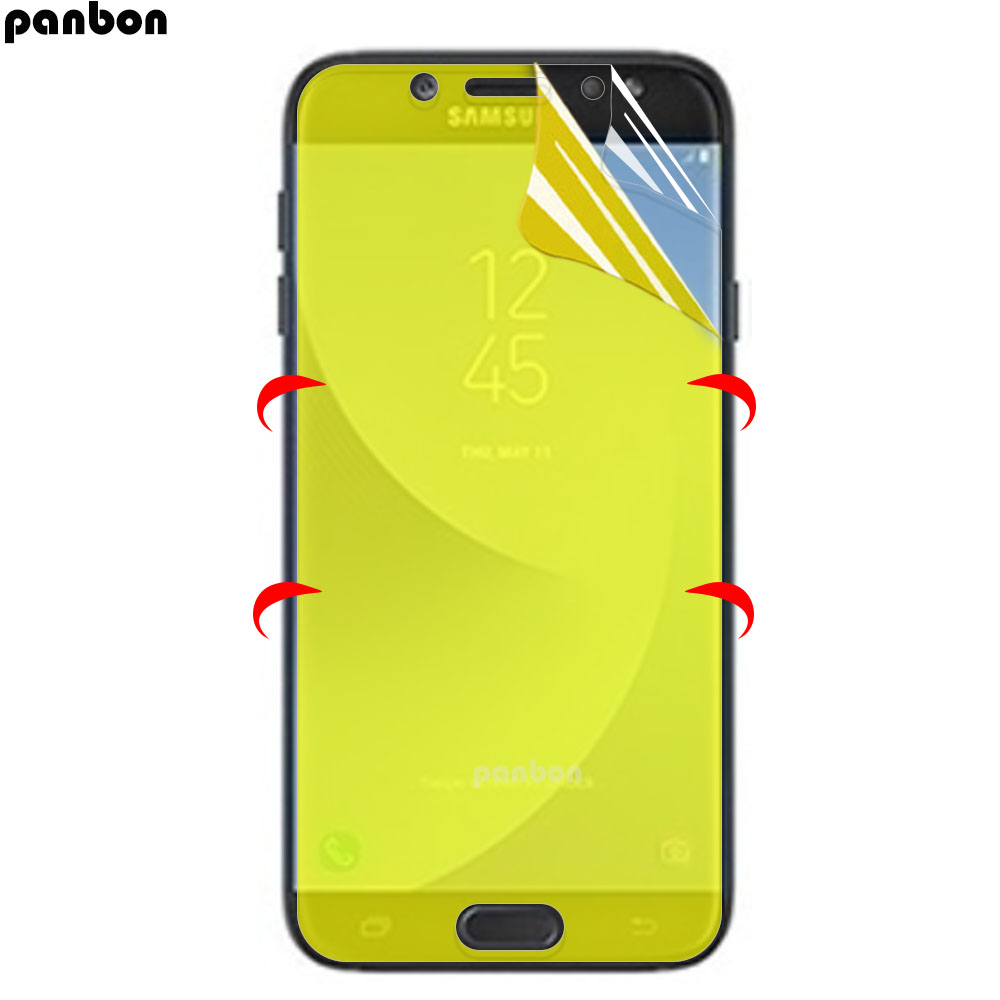 3D Soft Hydrogel film For <font><b>Samsung</b></font> Galaxy <font><b>A3</b></font> A5 A7 2016 J5 <font><b>2017</b></font> A6 A8 Plus 2018 <font><b>Screen</b></font> <font><b>Protector</b></font> Galaxy J7 Prime ( Not Glass ) image