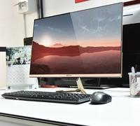 OEM DIY 20 24 inch monitor CPU i7/i5 RAM 8GB SSD 120GB all in one games desktops pc