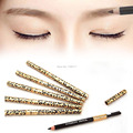 New Women Waterproof Eyebrow Pencil With Brush Make Up Leopard maquiagem 5 Colors Shadow To Eyebrow Cheap