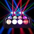 Профессиональный Сценический светодиодный свет луча паука RGBW 4 в 1  8x12 Вт