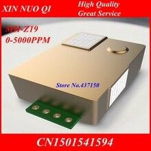 MH Z19 وحدة استشعار CO2 nمزودة بجهاز استشعار co2 يعمل بالأشعة تحت الحمراء 0 5000ppm جديد وأصلي في المخزن ، شحن مجاني