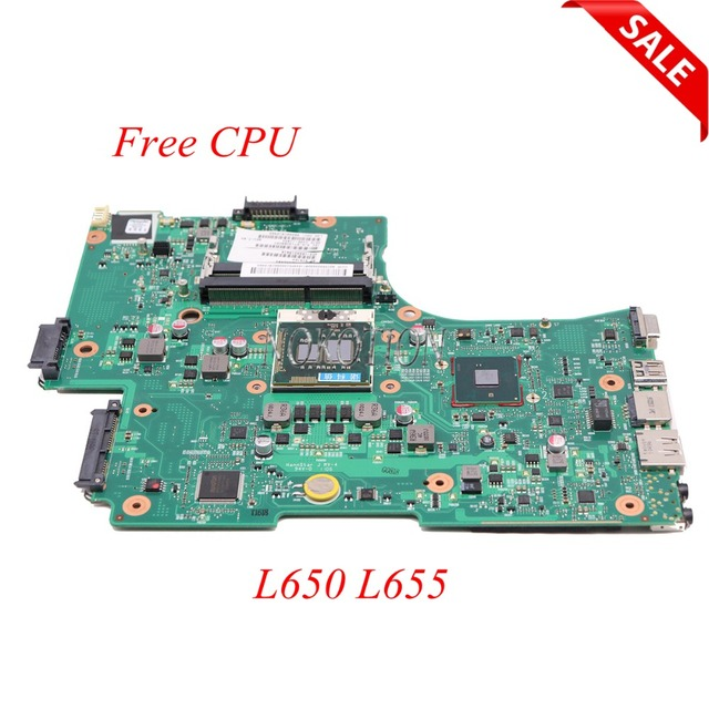 NOKOTION Laptop Motherboard For Toshiba Satellite L650 L655 1310A2332402 V000218080 V000218010 HM55 UMA MAIN BOARD DDR3 Free CPU