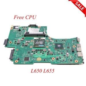 Image 1 - NOKOTION האם מחשב נייד עבור Toshiba לווין L650 L655 1310A2332402 V000218080 V000218010 HM55 UMA ראשי לוח DDR3 משלוח מעבד