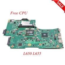 Scheda Madre Del Computer Portatile Per Toshiba Satellite di NOKOTION L650 L655 1310A2332402 V000218080 V000218010 HM55 UMA SCHEDA PRINCIPALE DDR3 CPU Libero