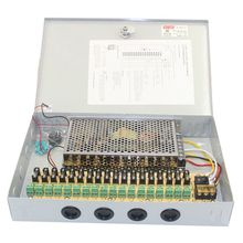 MOOL 12V DC 10A 18 CH Channel BOXED POWER SUPPLY UNIT For CCTV Surveillance Camera