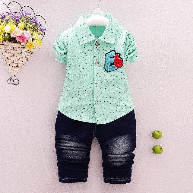 a175a7f33 BibiCola baby boys clothes set fashion autumn infant tracksuit 2pcs ...