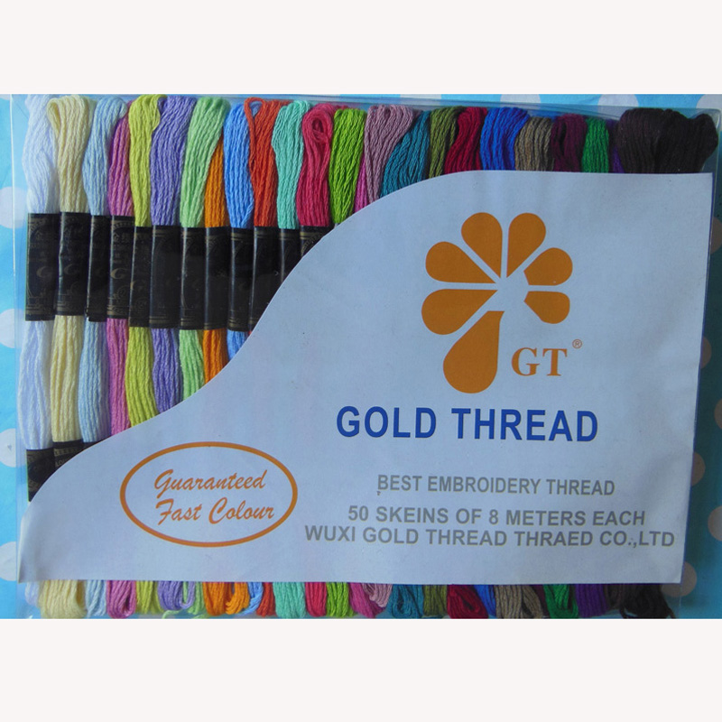 Wholesale 100 Cotton Embroidery Thread Sewing Thread