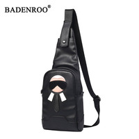 2cf514a70fc Packs Chest Package Men Summer Bag Single Shoulder Strap Back Bags PU  Leather Travel Men Crossbody