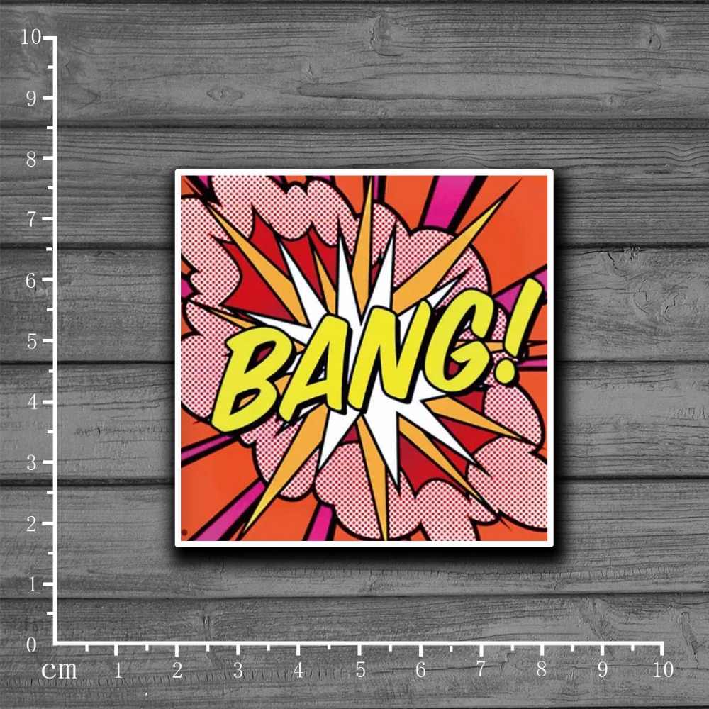 BANG! Graffiti Scrapbooking Briefpapier Sticker Decor Decal Voor Ablum Dagboek Notebook Laptop Bagage Skateboard Kids Speelgoed [Single]