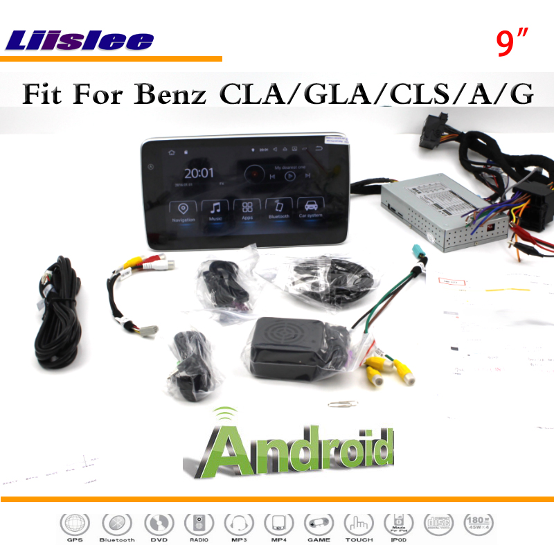 Liislee Android Multimedia For Mercedes Benz CLA / GLA / CLS / A / G Class Radio Stereo CD DVD Player GPS Navi Navigation System