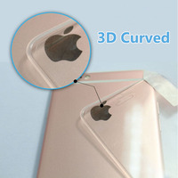 Lainergie Full Cover 3D Curved Surface 9H HD Seamless Tempered Glass for iPhone 6 6S Plus 5.5inch Screen Protective Film