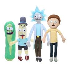 Взрослые плавать сезона Рика и Морти 3 американских мультфильмов маринованные Рик Санчез Морти Смит Mr poopybutte плюшевые куклы игрушки