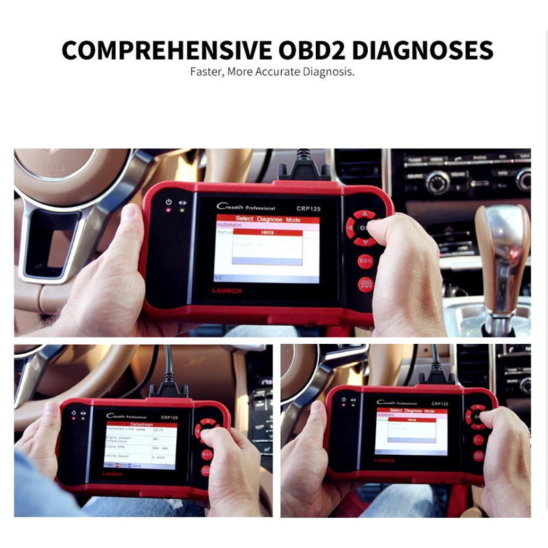 Image 4 - LAUNCH CRP129 Scanner Automotivo obd2 OBD obd 2 Car Code Reader Scan Tool Pro 2018 Launch X431 VIII Auto OBDII Diagnostic Tool-in Code Readers & Scan Tools from Automobiles & Motorcycles