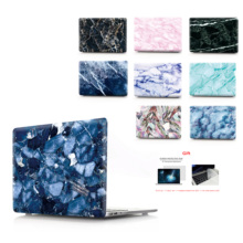 printing Laptop marble Case For MacBook Air Retina Pro 11 12 13 15 New with Touch Bar