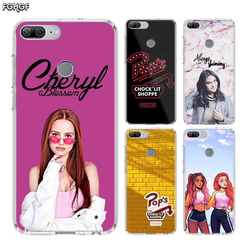American TV Riverdale Fundas Silicon Phone Case For Huawei Honor 20 Pro 10 9 lite 8X 8A 20i 8C 8S V20 Y5 Y6 Y7 Y9 2019 Cover