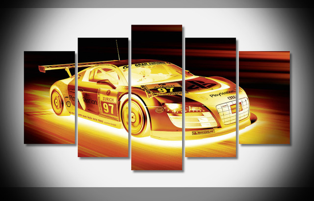 Perfect Cars Wall Decor Collection - Wall Art Collections ...