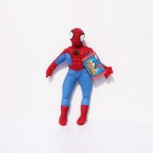 1 шт. 30 см Кукла человек-паук Плюшевые игрушки хороший подарок для детей