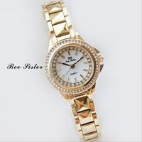 2017 New High Quality Women Fashion Rhinestone Watches Lady Luxury Wristwatches Relojes Casual Dress Watch Dropship