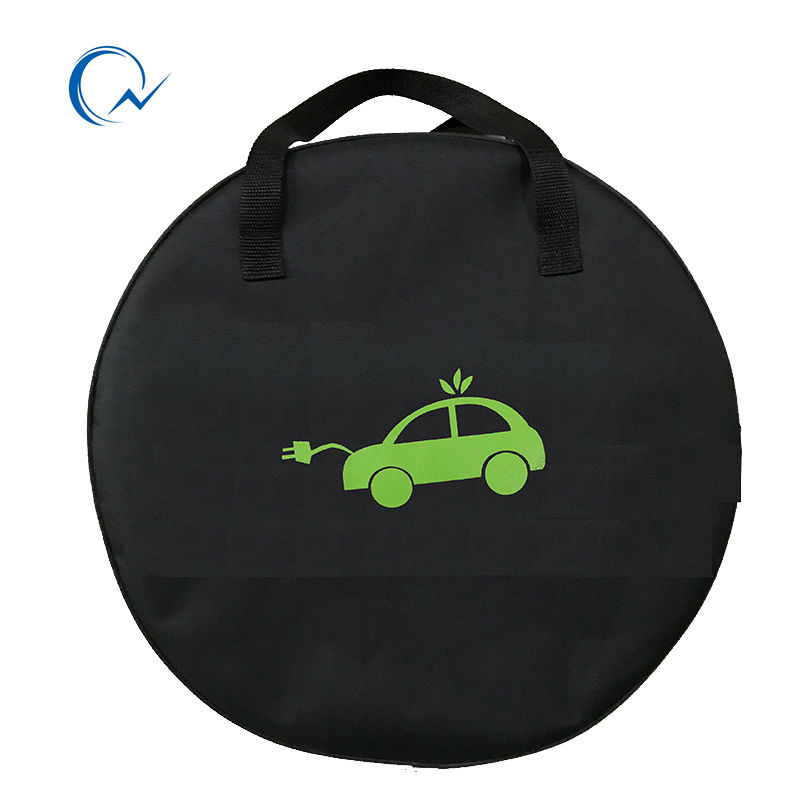 QNBBM EV Bag For Electric Car Vehicle EVSE Portable SAE J1772  IEC62196 Type 2 EV Cable Charging Equipment Container