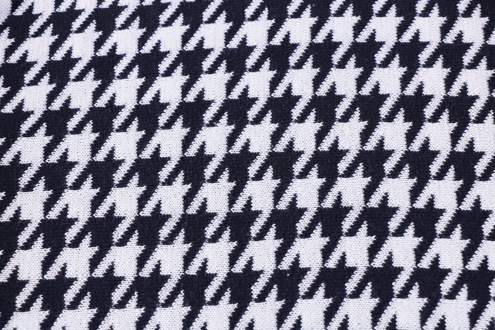 Free shipping Gift elegant houndstooth pattern cotton home decor ...